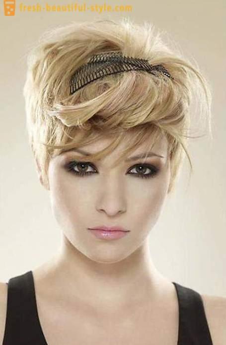 Coafuri Creative Pentru Femei Pentru Păr Scurt
